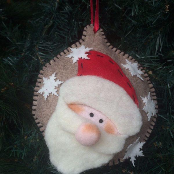 Kit Addobbi di Natale Babbo Natale
