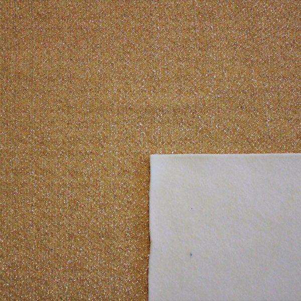 [Velluto e Lurex] Velluto e Lurex 50x35cm (Oro/Burro)